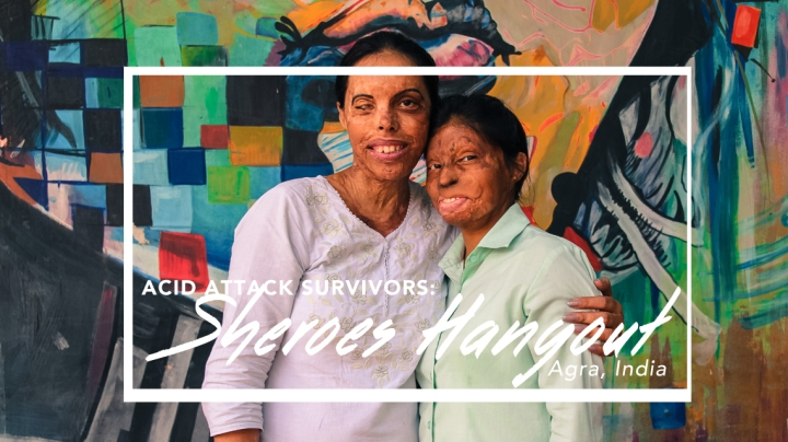SHEROES HANGOUT AGRA: CAFE BY ACID ATTACKVICTIMS