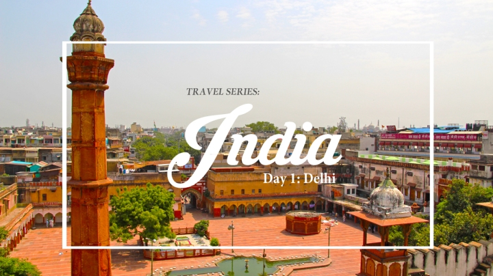 INDIA TRAVEL SERIES (DAY 1) | A DELHIIMMERSION