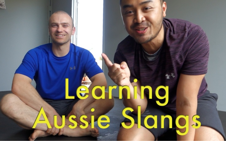 Vlog #3: Learning Aussie Slangs with Personal Trainer Adam Cannella