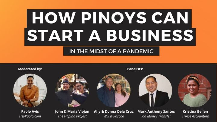 Event: How Pinoys Can Start A Business In The Midst Of A Pandemic