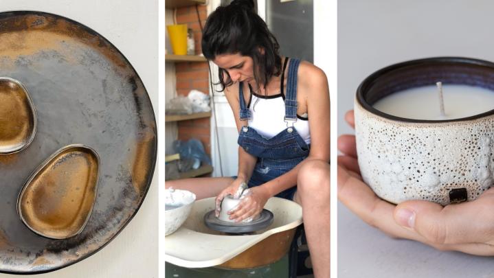Join Carla Ejarque's Wine & Ceramics Workshop On 04June